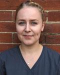 Emma Pierce, support team at Barton Veterinary Hospital and Surgery