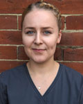 Emma Pierce, support team at Barton Veterinary Hospital and Surgery