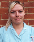 Kayleigh Ramsbottom, student veterinary nurse at Barton Veterinary Hospital and Surgery