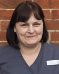 Tina Gilbert, receptionist at Barton Veterinary Hospital and Surgery